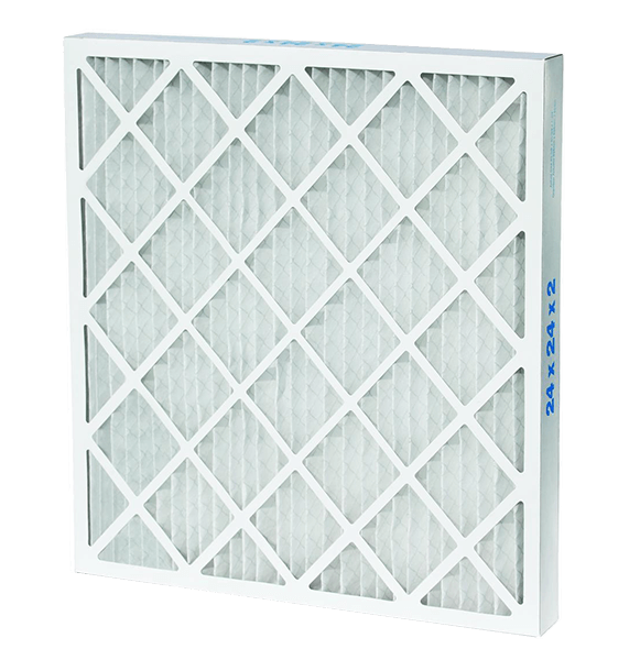 HVAC pleated air filters