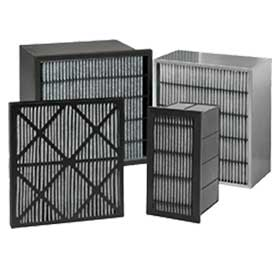 HVAC gas phase filters