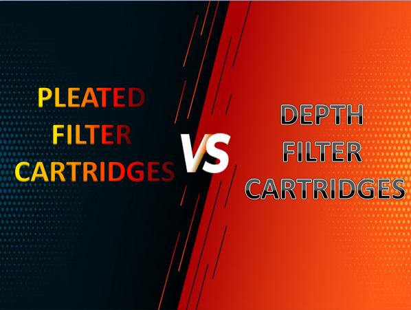 Pleated and depth filter